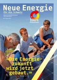 «Die Energie- zukunft wird jetzt gebaut.» - Agentur für Erneuerbare ...