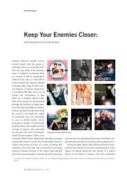 Keep your enemies closer: Protecting Korea's ... - Korean Histories