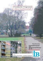 Kurzfassung - Sozialplanung und -forschung