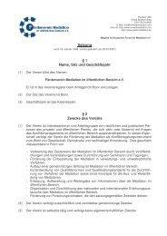 Satzung § 1 Name, Sitz und Geschäftsjahr § 2 Zwecke des Vereins