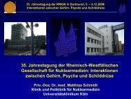 35. Jahrestagung der RWGN in Dortmund, 5. – 6.12.2008