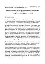 Referentenentwurf für ein - Förderverein Mediation im öffentlichen ...