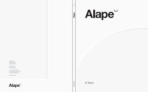 A˘form (9 MB) - Alape
