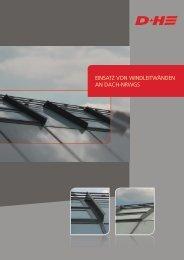 Einsatz von WindlEitWändEn an dach-nRWGs - D+H Mechatronic