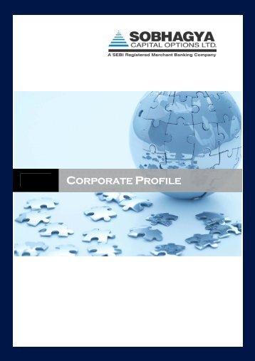 to download company profile - Sobhagya Capital Options