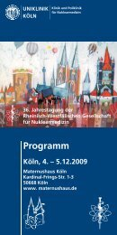 Programm - RWGN