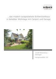 ...das modern ausgestattete Einfamilienhaus in beliebter Wohnlage ...
