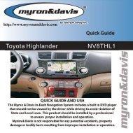 Highlander Quick Guide.pdf - Myron & Davis