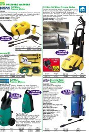 Xtra Cold Water Pressure Washer PRESSURE ... - everpro.my
