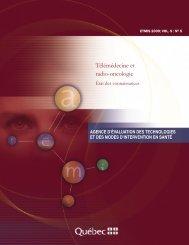 Télémédecine et radio-oncologie : État des connaissances - INESSS