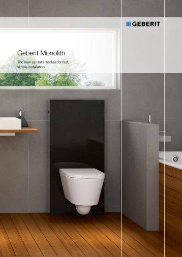 Geberit Monolith - Tengi