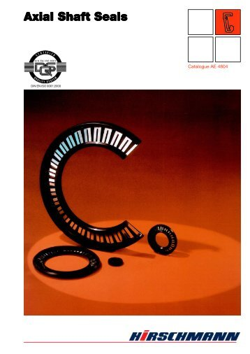 Axial Shaft Seals - O-rings | Rubber washers | Rubber gaskets ...