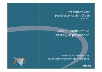 Sociale houdbaarheid wettelijke pensioenen (nl)