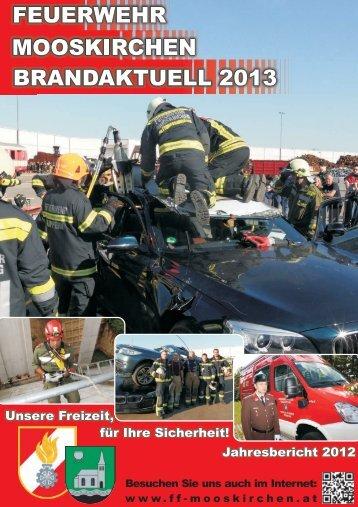 Brandaktuell 2013 - Feuerwehr Mooskirchen