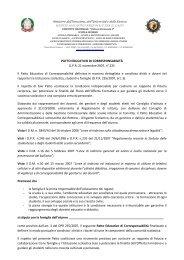 Patto educativo di corresponsabilità - Convitto Nazionale Vittorio ...