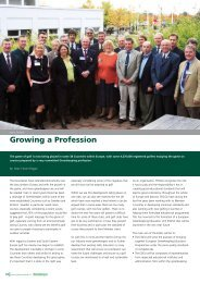 Growing a Profession - Greenkeeper