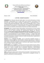 scarica il decreto - Convitto Nazionale Vittorio Emanuele II