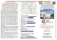 brochure dell'evento - Convitto Nazionale Vittorio Emanuele II