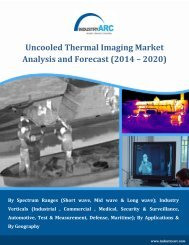Uncooled Thermal Imaging Market Analysis and Forecast (2014 – 2020)