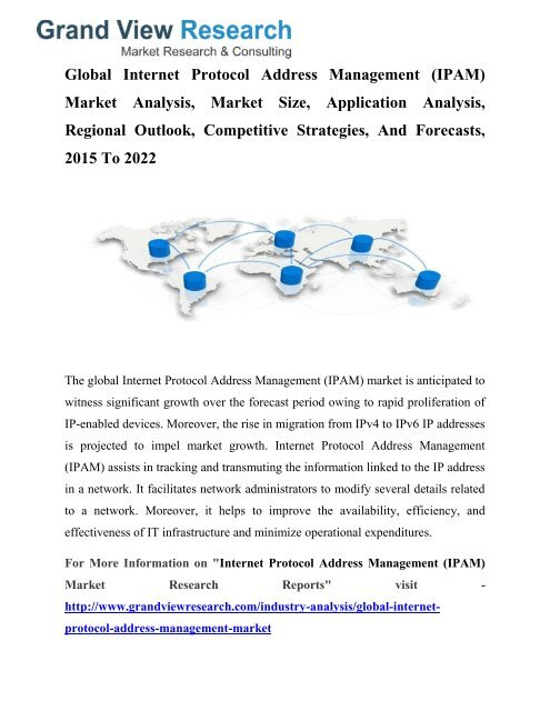 Internet Protocol Address Management (IPAM) Market Growth