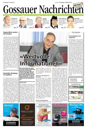 Zopf, Eier, Milchprodukte Hof Baldenwil - Aktuelle Ausgabe