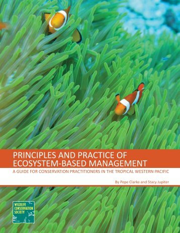 principles and practice of ecosystem-based management - Wildlife ...