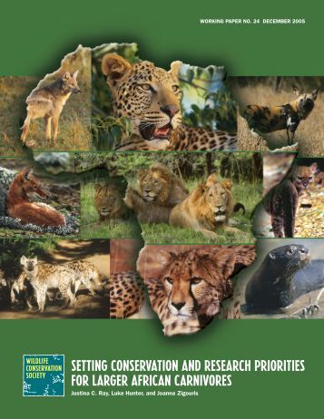View - Conservation Support - Wildlife Conservation Society