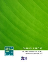 download - WCS Fiji - Wildlife Conservation Society
