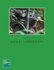 nDOkI LanDScapE - Wildlife Conservation Society