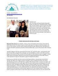 Stroke Survivor with Aphasia Gives Back - Adler Aphasia Center