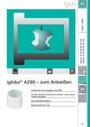 iglidur® A290 – zum Anbeißen - Igus