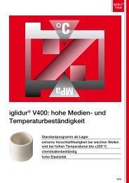 iglidur® V400: hohe Medien- und Temperaturbeständigkeit - Igus