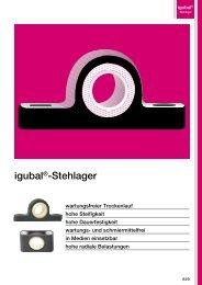 igubal®-Stehlager - Igus
