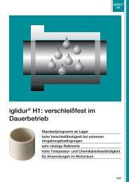 iglidur® H1: verschleißfest im Dauerbetrieb - Igus