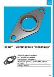 iglidur® – wartungsfreie Flanschlager - Igus