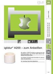 iglidur® A200 – zum Anbeißen - Igus