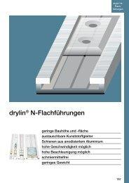 drylin® N-Flachführungen - Igus