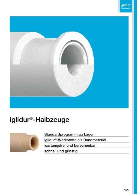 iglidur®-Halbzeuge - Igus