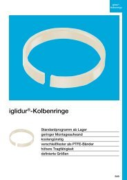 iglidur®-Kolbenringe - Igus