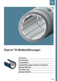 DryLin® R-Wellenführungen - Igus