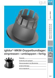 iglidur®-MKM-Doppelbundlager: ein pressen – umklappen ... - Igus