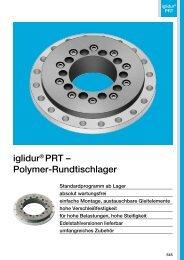 iglidur® PRT – Polymer-Rundtischlager - Igus