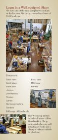 Woodworking Classes - Diablo Woodworkers - Page 2