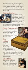 Woodworking Classes - Diablo Woodworkers - Page 5