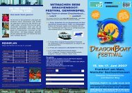 Programmflyer Download (pdf 3,5 MB) - Drachenboot Festival ...