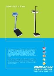 MDW Medical Scales - Adam Equipment