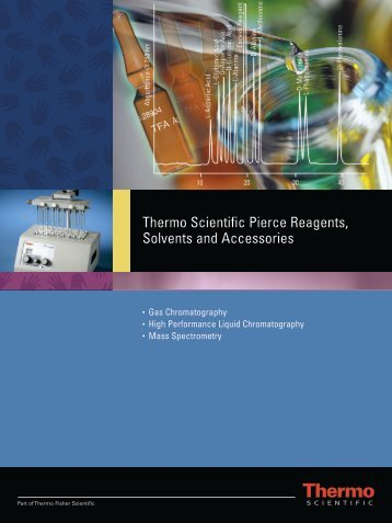 Thermo Scientific Pierce Reagents, Solvents and ... - Cromlab