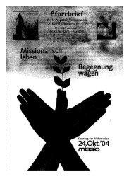 Pfarrbrief vom 10.10.2004 - Propsteipfarrgemeinde St. Mariä ...