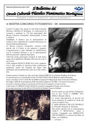 bollettino 2003 n.3 - Circolo Culturale Filatelico Numismatico ...