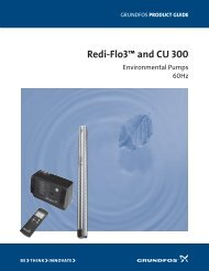 Redi-Flo3™ and CU 300 - Pumps of Oklahoma